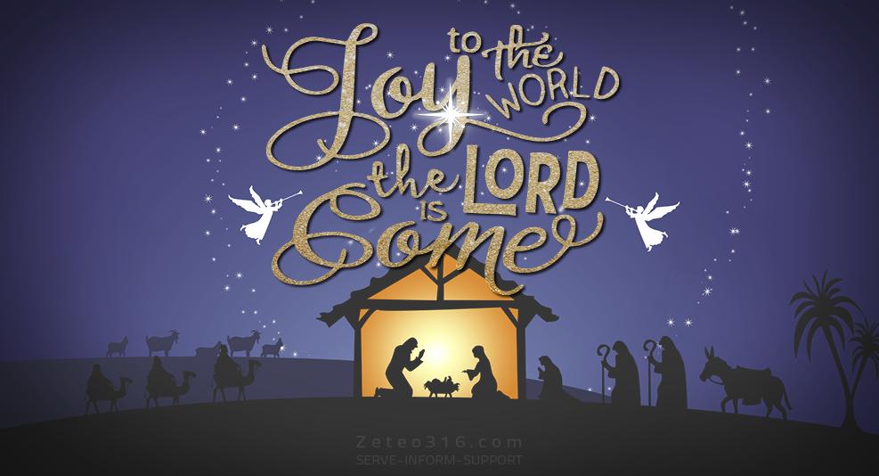 Blessed and Joyful Christmas 2017 - Zeteo 3:16